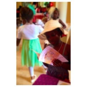 Little Girl in Hat